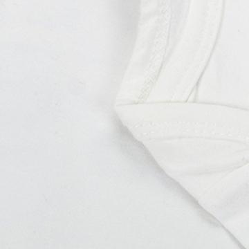 Bekleidung Longra Neugeborene kleidet Baby Mädchen Bodysuit Spielanzug Overall Ausstattung Strampler Outfits(0 -24 Monate) (60CM 3Monate, white) -