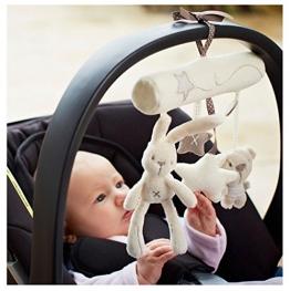 EJY Hängende Sprach Musik Spielzeug Mobile Kaninchen Spielzeug für Baby -